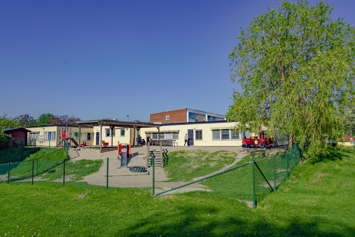 Fasad Fårets Förskola Täby